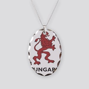 hungary11 Necklace Oval Charm