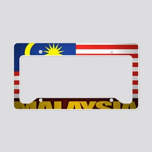 Malay (Laptop Skin) License Plate Holder