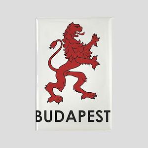 budapest3 Rectangle Magnet