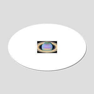 saturn_natgeo_spolevert 20x12 Oval Wall Decal