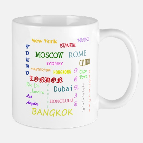 Famous Cities Mugs