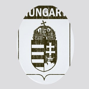 hungary12 Oval Ornament