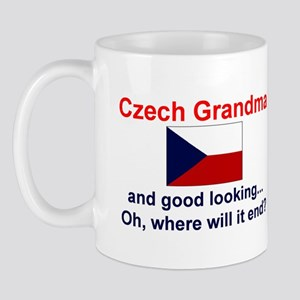 Czech Grandma-Good Lkg Mug