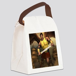 ANGEL_Michael_notecard Canvas Lunch Bag