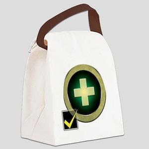 Healer2 Canvas Lunch Bag