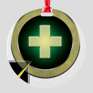 Healer2 Round Ornament