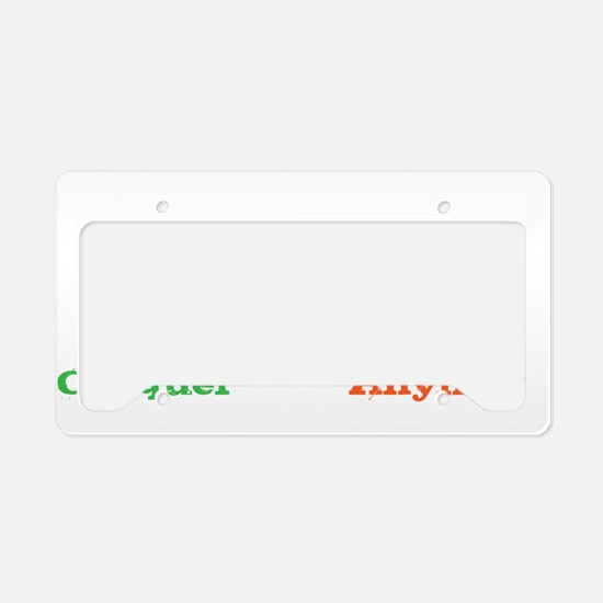 cia wh License Plate Holder
