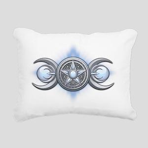 Triple Goddess - Moonsto Rectangular Canvas Pillow