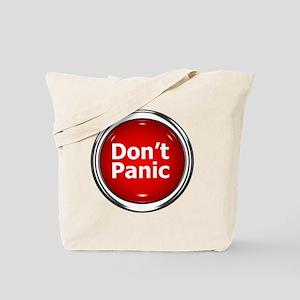 z-button-dontpanic Tote Bag