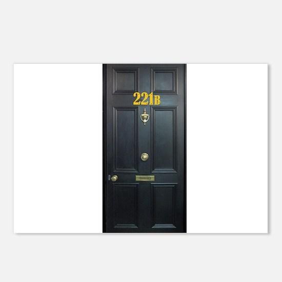 221B Door Postcards (Package of 8)