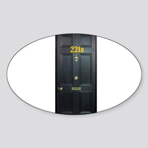 221B Door Sticker