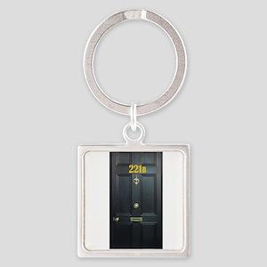 221B Door Keychains