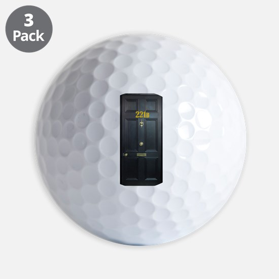 221B Door Golf Ball
