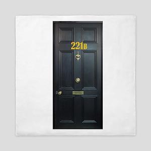 221B Door Queen Duvet