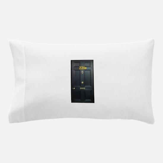 221B Door Pillow Case