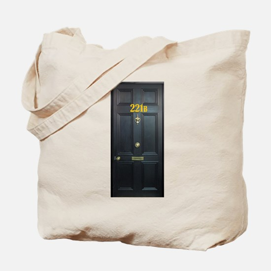 221B Door Tote Bag