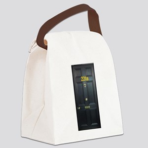 221B Door Canvas Lunch Bag