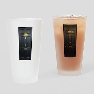 221B Door Drinking Glass