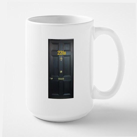 221B Door Mugs