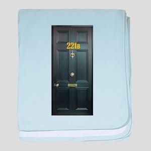 221B Door baby blanket