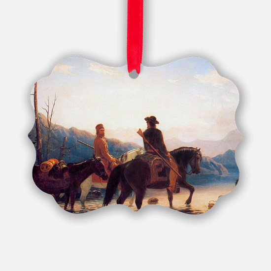 The Trappers, 1856, Oil on canvas Ornament