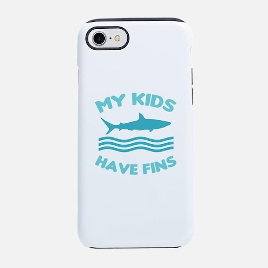 Funny Shark Biologist iPhone 7 Tough Case