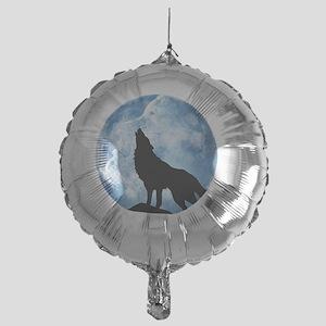 wolf Mylar Balloon