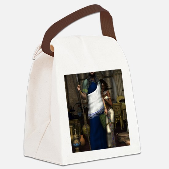 King_Solomon_notecard Canvas Lunch Bag