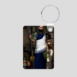King_Solomon_postcard Aluminum Photo Keychain