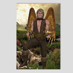 ANGEL_Raphael_notecard Postcards (Package of 8)