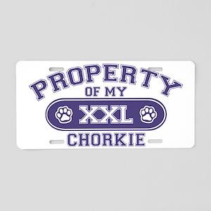 chorkieproperty Aluminum License Plate