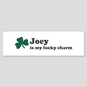 Joey is my lucky charm Bumper Sticker