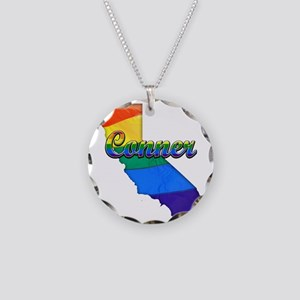 Conner Necklace Circle Charm