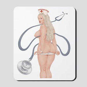 Hello Nurse! Mousepad