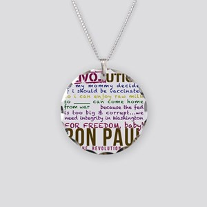 ron paul tike Necklace Circle Charm