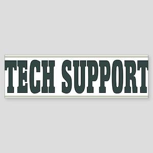 tech support - light Sticker (Bumper)