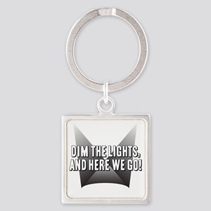 DimTheLights Square Keychain