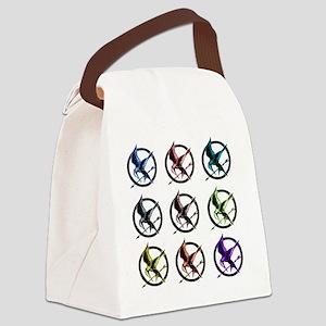 mutli hg Canvas Lunch Bag