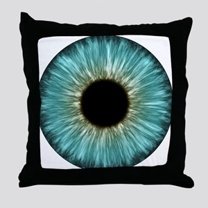 Weird Eye Throw Pillow