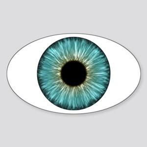 Weird Eye Oval Sticker