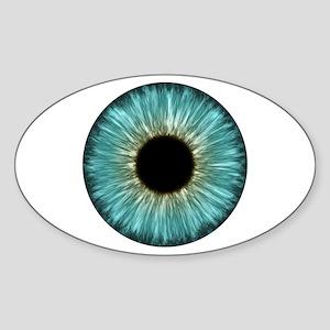 Weird Eye Oval Sticker