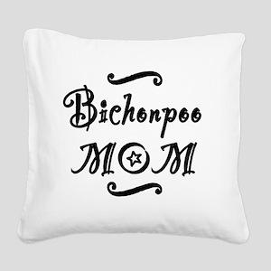 bichonpoomom Square Canvas Pillow