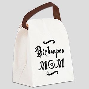 bichonpoomom Canvas Lunch Bag