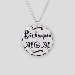 bichonpoomom Necklace Circle Charm