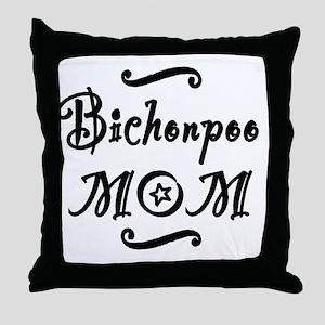 bichonpoomom Throw Pillow