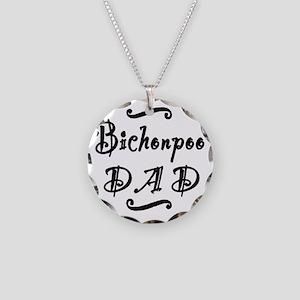 bichonpoodad Necklace Circle Charm