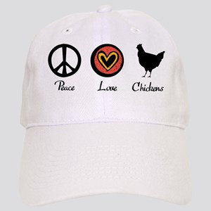 peacelovechickens Cap