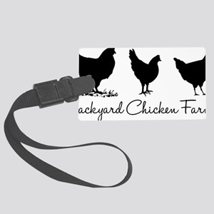 backyardchickenfarmer Large Luggage Tag
