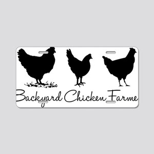 backyardchickenfarmer Aluminum License Plate