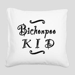 bichonpookid Square Canvas Pillow